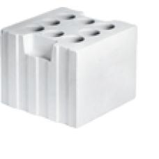 Блок силикатный пустотелый